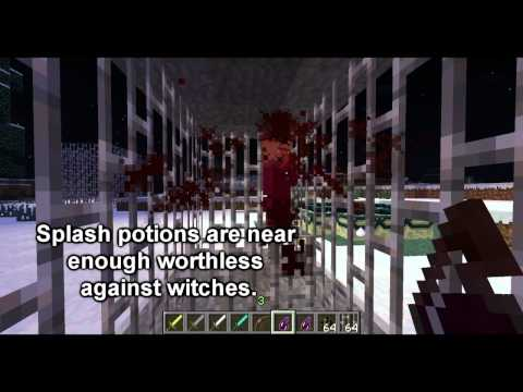 Minecraft Mob Guide - The Witch