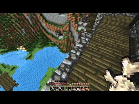 Eedze's adventures in Minecraft 77: castle expansion and meeting Docm77