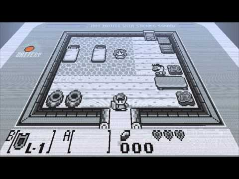 Minecraft Zelda Links Awakening in Stop Motion
