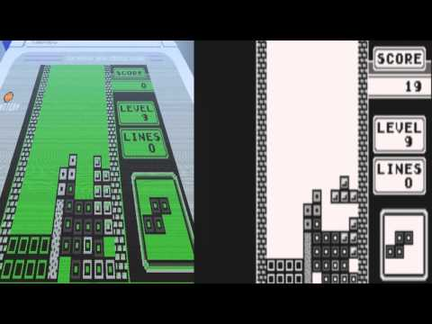 The making of Minecraft tetris stop motion