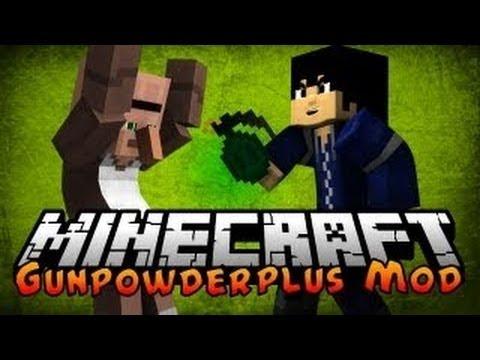 #Minecraft 1.5.1 Mods | Massive Explosives - Grenade Mod!