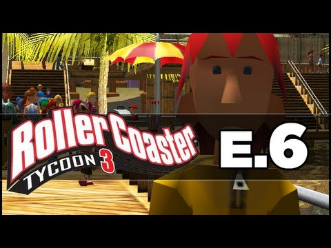 RollerCoaster Tycoon 3: Ep 06 - Most Boring Ride!
