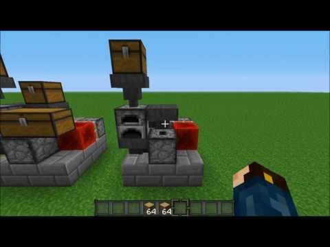 Minecraft 1.5.2: Two Mass Furnace Designs
