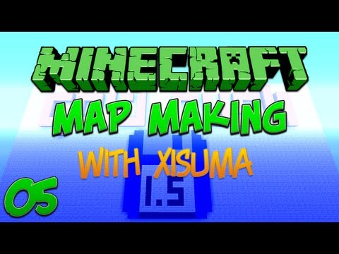 Minecraft Map Making 05 Arena Building