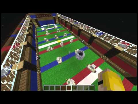 Foosball in Minecraft ( Foosball Mini Game)  W/ Download
