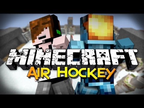 Minecraft: Air Hockey w/ Deadlox! (Mini-Game)