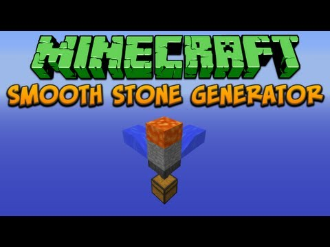 Minecraft: Automated Smooth Stone Generator Tutorial