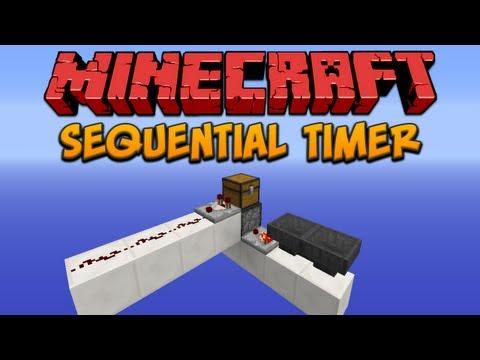 Minecraft: Sequential Timer