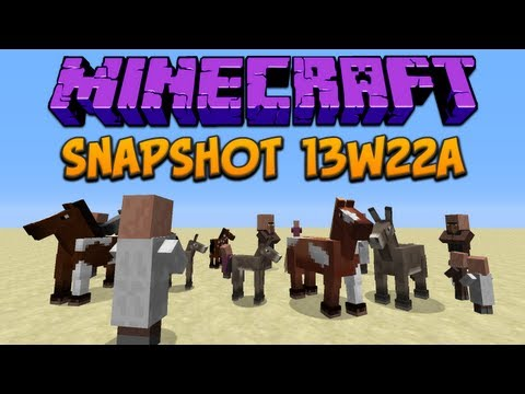 Minecraft: 13w22a New Sounds & Bugfixes