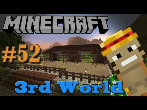 A Horse of Course - Minecraft 3rd World LP #52