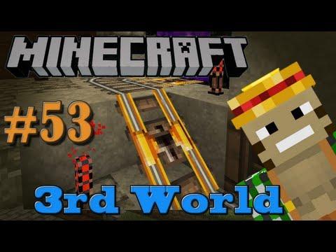 Ghastly Witchhut Transport System - Minecraft 3rd World LP #53