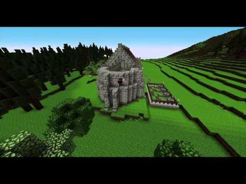 Minecraft Medieval Church Timelapse