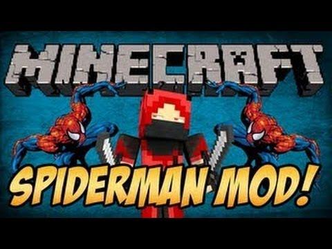 Minecraft 1.5.2 Mods | SPIDER MAN MOD (Mod Showcase)
