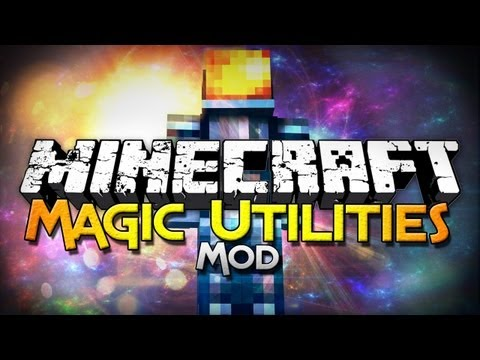 Minecraft Mod Showcase: Magic Utilites Mod - Fly, Control Time, and More!
