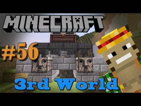Fully Auto Chicken Farm (Pt. 1)!   Minecraft 3rd World LP #