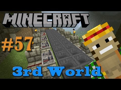 Infinite Hopper Clock - Auto Chicken Farm (Pt. 2) - Minecraft 3rd World LP #57