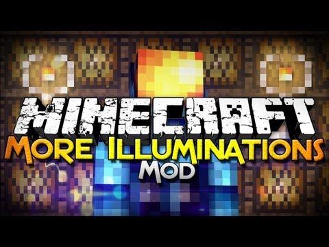 Minecraft Mod Showcase: More Illuminations - Diversify Your Lighting!