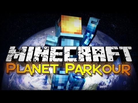 Minecraft: Planet Parkour - From Planet to Planet!
