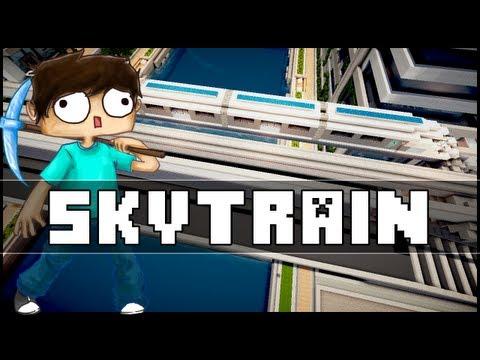 Minecraft - Skytrain