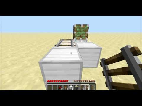 Minecraft 1.6.1: Rail Duplication Glitch Tutorial