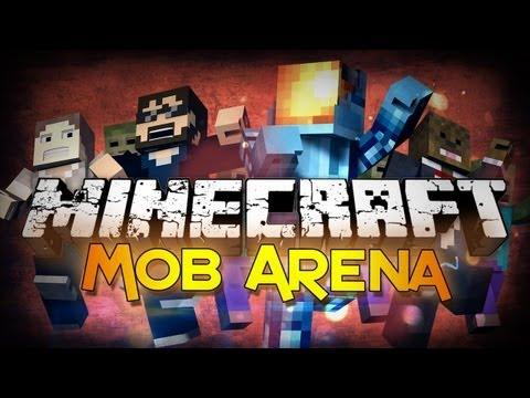 Minecraft: MobArena w/ JeromeASF, SSundee, and Doug!