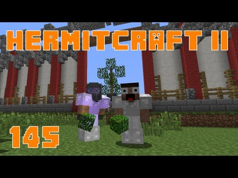 Hermitcraft II 145 Building The Roof With Keralis