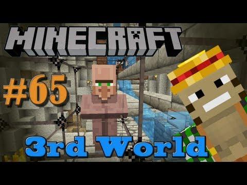 Zombie Bait - Minecraft 3rd World LP #65