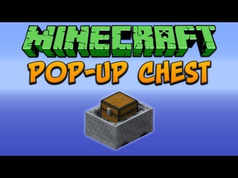 Minecraft: Pop-Up Chest Tutorial
