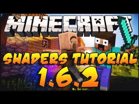 Minecraft 1.6.2 Shaders Mod Installation Tutorial + Download Links