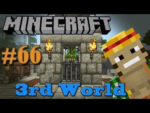 XP Farm & Mob Cooker - Minecraft 3rd World LP #66