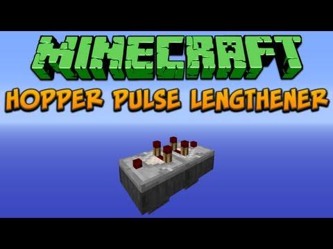 Minecraft: Hopper Pulse Lengthener (Silent) Tutorial