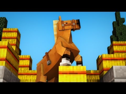 Hay's for Horses- A Minecraft Animation