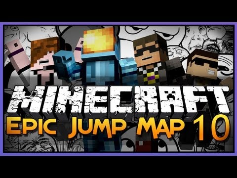 Minecraft: Epic Jump Map 10 - Ultimate Trolling 2!
