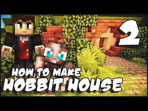 Minecraft: How To Make a Hobbit House - Part 2