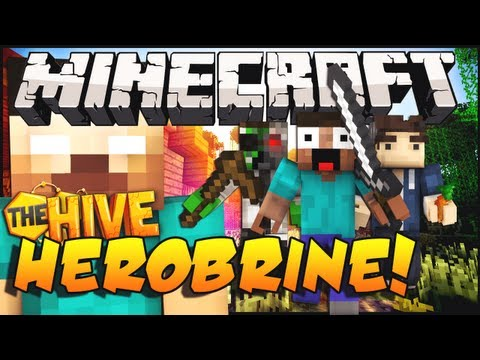Minecraft Mini-Game : The Herobrine! w/ Docm77 & TerasHD