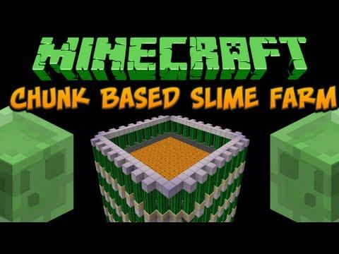 Minecraft videos 16 minecraft chunk based slime farm tutorial ccuart Choice Image
