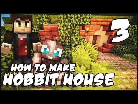 Minecraft: How To Make a Hobbit House - Part 3