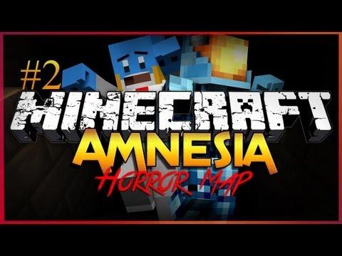 Minecraft Horror Map: Amnesia - Part 2 - Jump Scares!!!