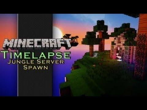 Minecraft Jungle Spawn Point Timelapse