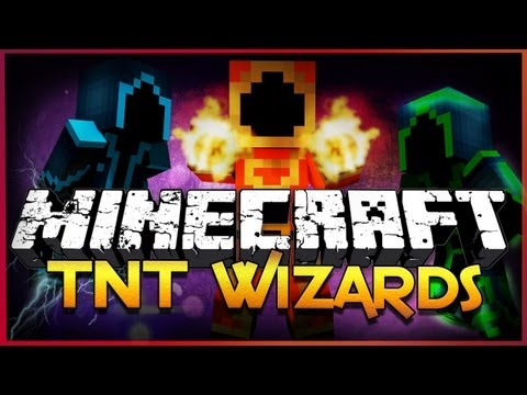 Minecraft: TNT Wizards - Destructive Wizard Battles (Mini-Game)