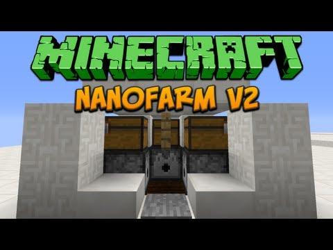 Minecraft: Nanofarm V2 Tutorial