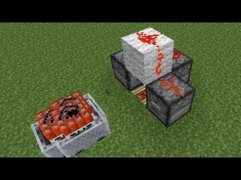 Minecraft 1.6.2: Railless TNT Cart Launcher