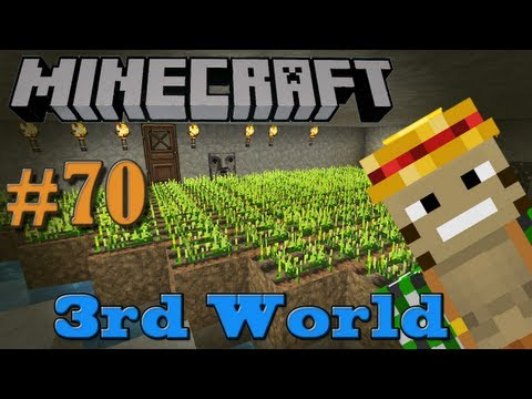Wheeeeeat! - Minecraft 3rd World LP #70