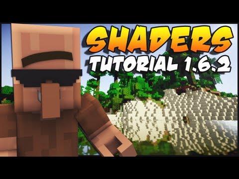Minecraft 1.6.2 Shaders Mod Installation Tutorial