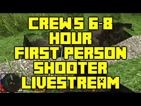 Crew will be doing a 6-8 Hour First Person Shooter Livestream this Saturday Sept 7th