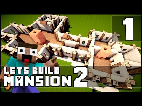 Minecraft  How To Make a Mansion   Part 1. Minecraft Videos   mansion