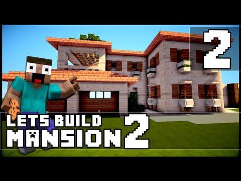Minecraft  How To Make a Mansion   Part 2. Minecraft Videos   Blog Archive   Minecraft  How To Make a Mansion