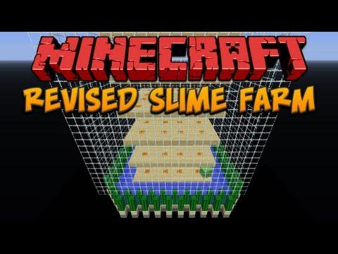 Minecraft videos slimes minecraft revised chunk based slime farm ccuart Choice Image