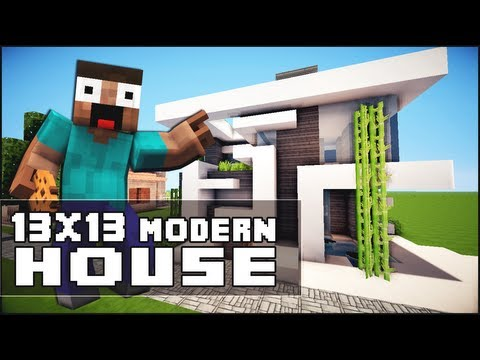 Minecraft Videos Of Modern Houses