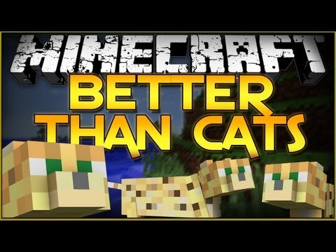 Minecraft Mod Showcase: Better Than Cats - HARVEST THEIR SOULS!